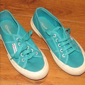 Cotu Classic Teal Superga Sneakers